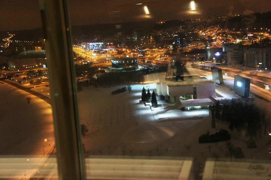 Radisson Blu Hotel Lietuva: aussicht von der Skybar 