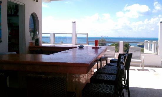 Casa Sirena Hotel: Rooftop bar