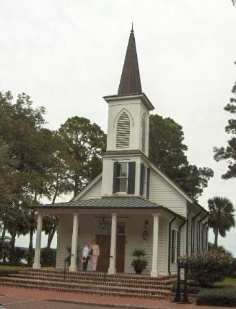 May River Golf Club at Palmetto Bluff: Chapel at Palmetto Bluff Resort
