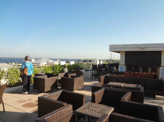 The Wyvern Hotel Punta Gorda: rooftop bar
