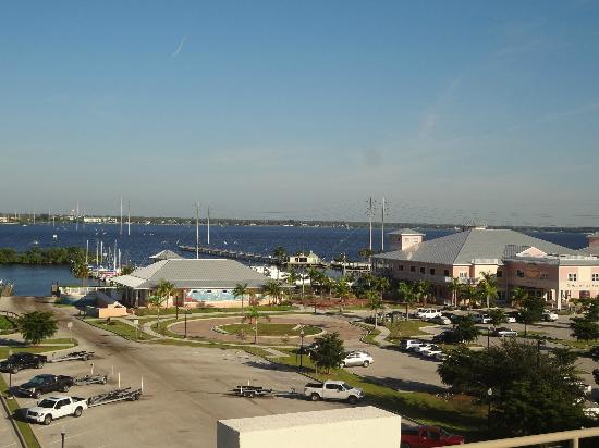 The Wyvern Hotel Punta Gorda : one view from rooftop bar