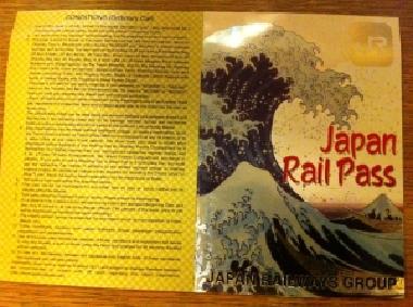 Devant le Japan Rail Pass