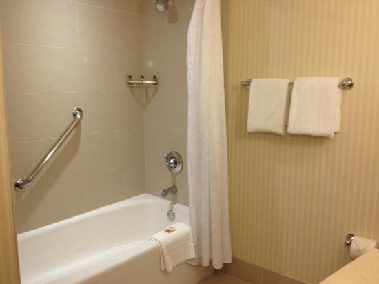 Sheraton Carlsbad Resort and Spa: great water pressure from shower head
