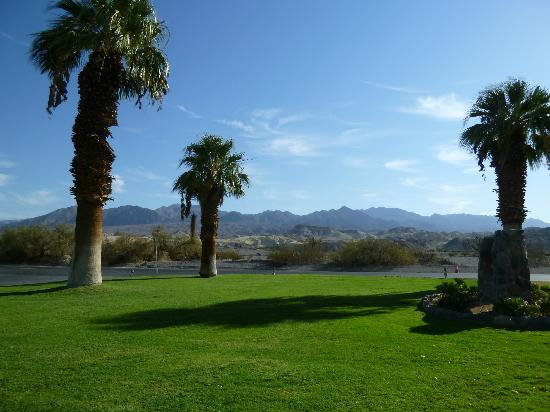 Furnace Creek Inn and Ranch Resort: campo da golf nel ranch