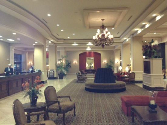 The Grand Hotel in Salem: This is the lobby