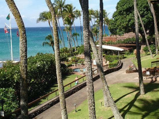 Napili Kai Beach Resort: View from room