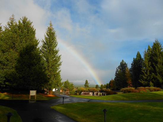 ‪‪Sunriver Resort‬: Rainbow at Sunriver