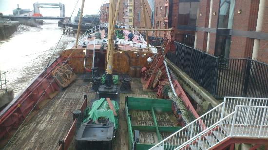Hull & East Riding Museum: Arctic Corsair - aft deck