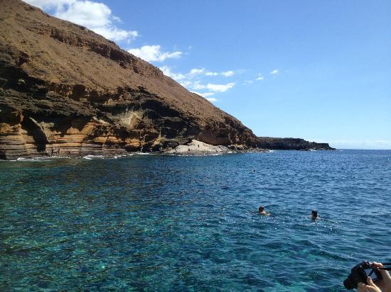 Marino Tenerife: Gorgeous rock cones Costa del Silencio Bay area at close vicinity of hotel 