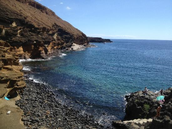 Marino Tenerife: Gorgeous view of Coast del Silencio bay/natural beach area