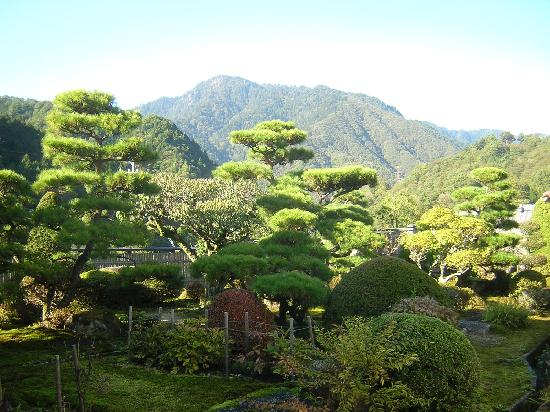 Nagisomachi Museum (Tsumagojuku Honjin): 庭の眺め