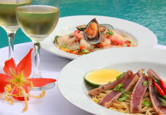 Aqua Restaurant: Fresh local seafood