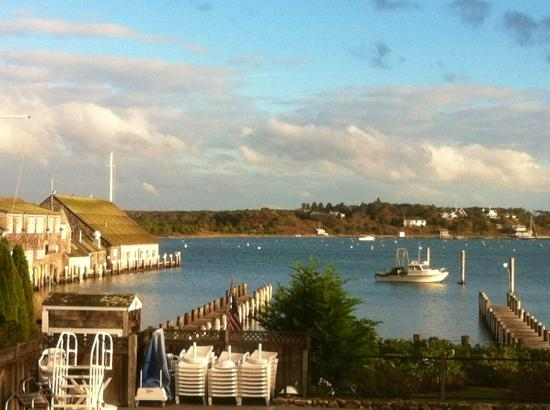 Harborside Inn: view from the deck