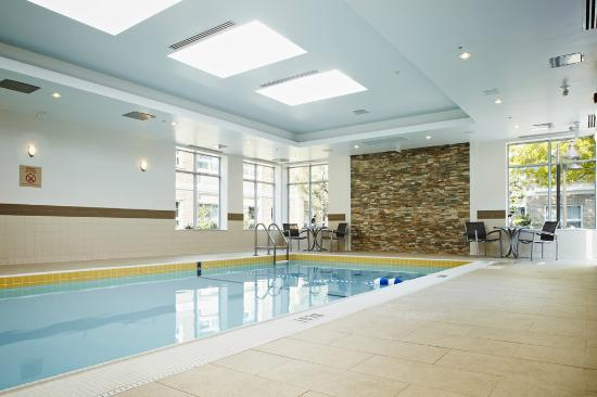 TownePlace Suites Mississauga-Airport Corporate Centre: Indoor Heated Pool