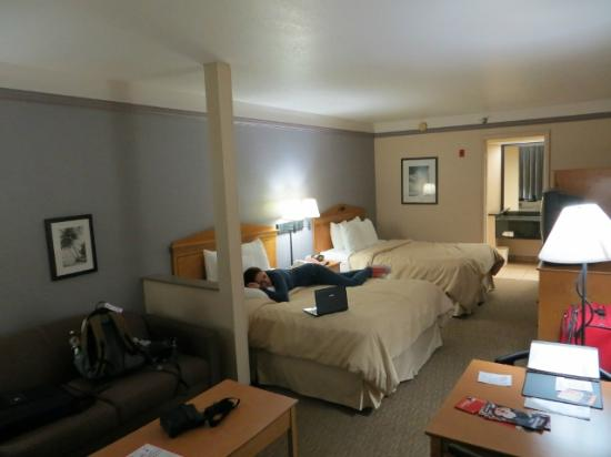 Kamer Picture Of Clarion Suites Maingate Kissimmee