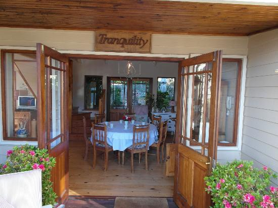 Tranquility Guest House : Entree