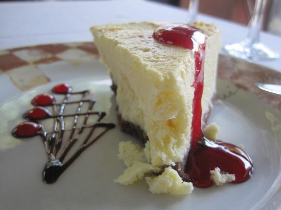 Rixos Sungate Hotel: chesecake 