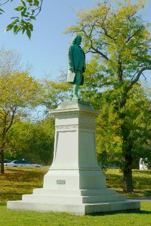 Benjamin Franklin, Richard Henry Park, 1896, Lincoln Park