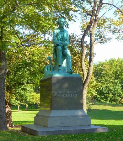 Hans Christian Anderson, Johannes Gellert, 1896, Lincoln Park