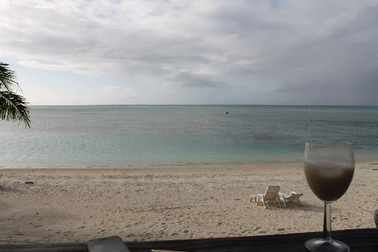 Paradise Cove Lodges: View from our bungalow...pina colada in hand