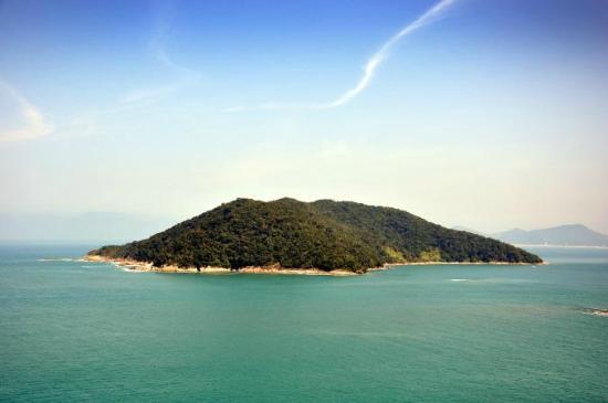 Caraguatatuba, SP: ilha Tamandua
