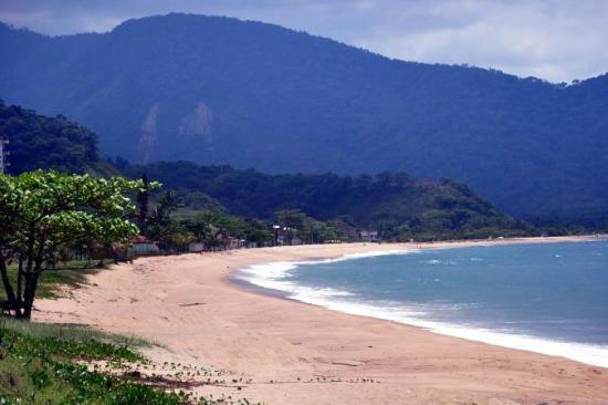 Caraguatatuba, SP: Praia da Tabatinga