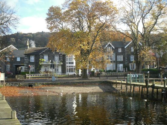 Waterhead: The hotel from a jetty
