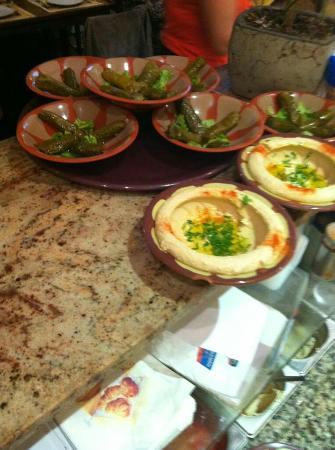 Au Petit Libanais: Mezze
