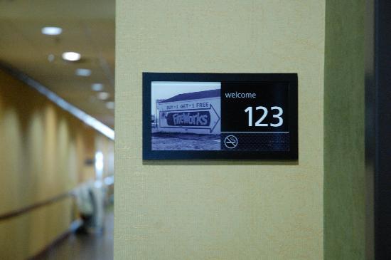 Hampton Inn & Suites Waxahachie: Unique Room Numbers!