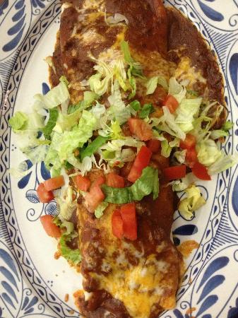 Abuelo's: Grande Burrito Lunch