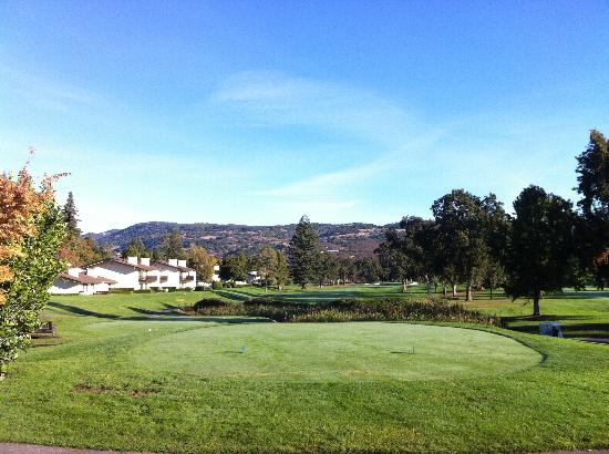Silverado Resort and Spa: View of the golf course