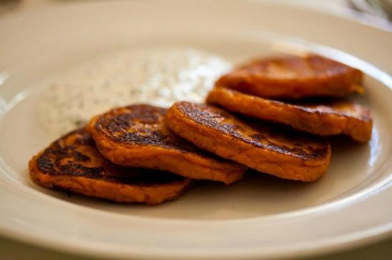 Orna & Ella : Yam Pancakes (8/10)