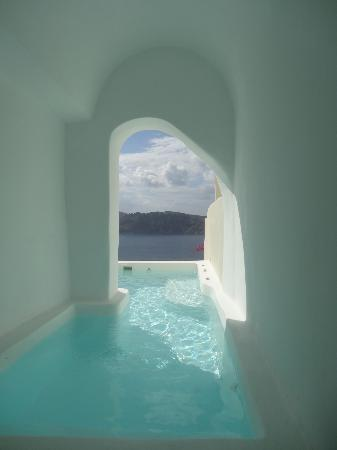 Canaves Oia Hotel: Private pool