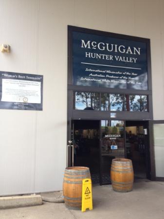Sidney, Australia: McGuigan's cellar door