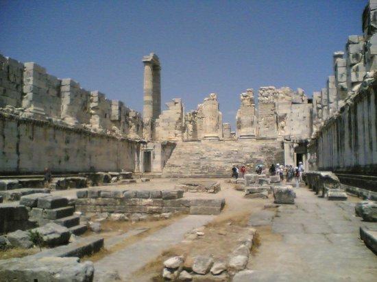 Didim, Turkiet: The temple