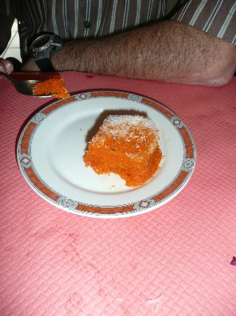 Taj Mahal : Halwa for dessert