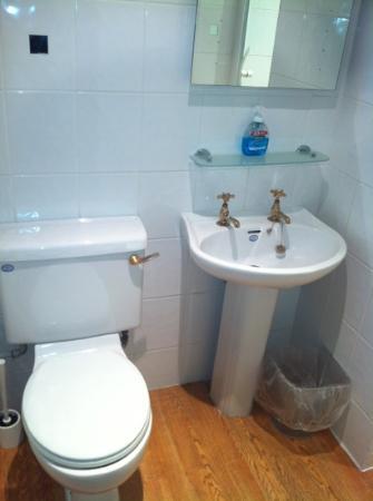 The Croppers Arms Residential Inn: Bathroom