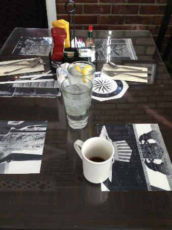 Boulder Dam Hotel Restaurant: coffee at the Hotel