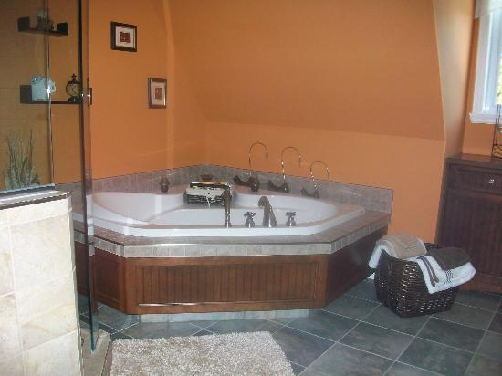 Gite du Moulin Lac-Beauport : Salle de bain