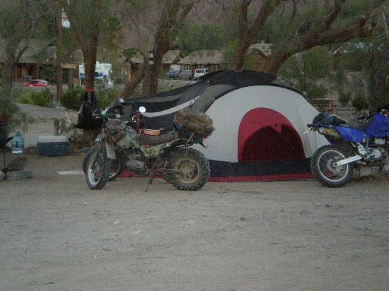 Panamint Springs Resort: Tent camp