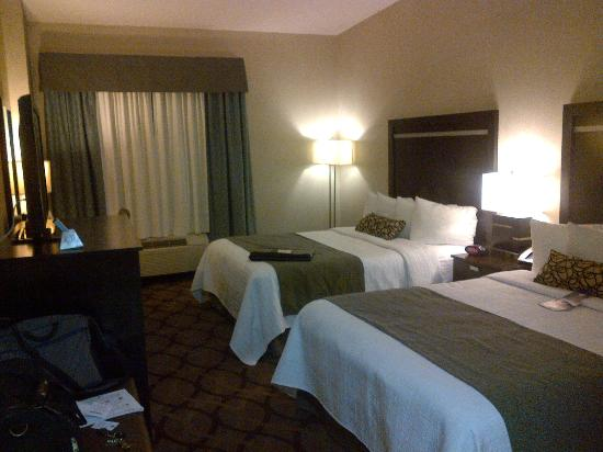 Best Western Plus Travel Hotel Toronto Airport: My room