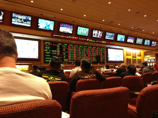 best casino to watch football in vegas