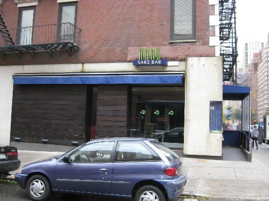 Haru Sake Bar: Exterior - side