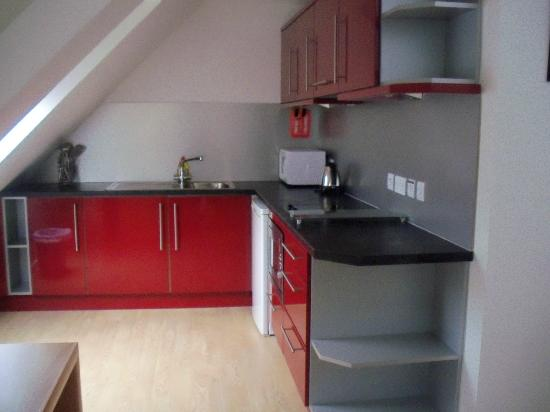 Skene House Rosemount: The sleek kitchen