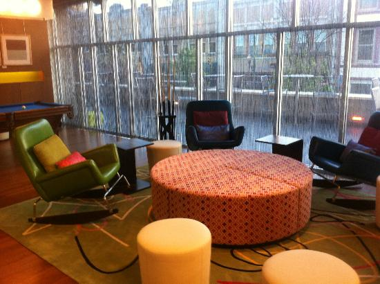 Aloft Asheville Downtown: Look at these incredible chairs! Love!