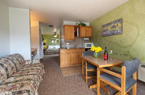 Mountain View Lodge & Resort: Deluxe Kitchenette