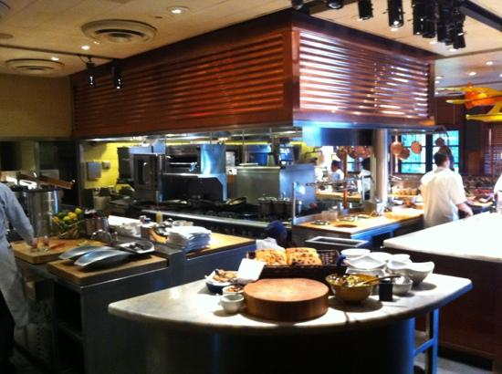 Open kitchen picture of palm beach grill