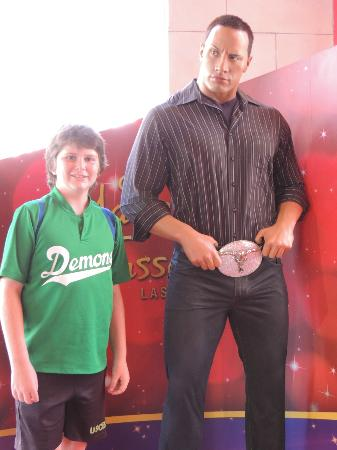 Wax Museum The Rock Picture Of The Strip Las Vegas