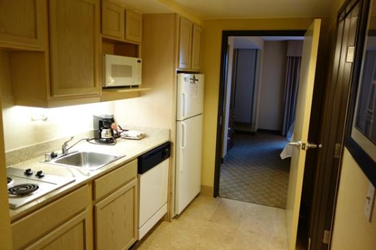 Homewood Suites by Hilton Seattle Downtown: Kitchen