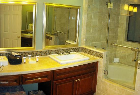Welk Resort San Diego: another bathroom - tub/shower